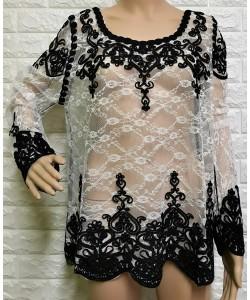 Γυναικεία μπλούζα δαντέλα  LA-232