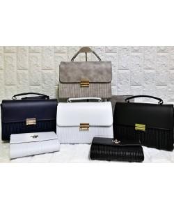 Γυναικεία τσάντα σετ 2 τμχ  Μ-361