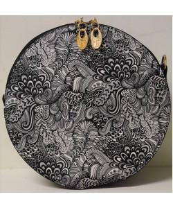 Γυναικεία τσάντα στρογγυλή χιαστί Β-1