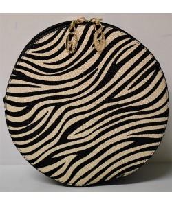 Γυναικεία τσάντα στρογγυλή χιαστί Β-2