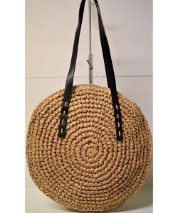 Ψάθινη γυναικεία τσάντα Ρ-501