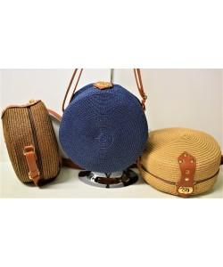 Ψάθινη γυναικεία τσάντα  Ρ-503