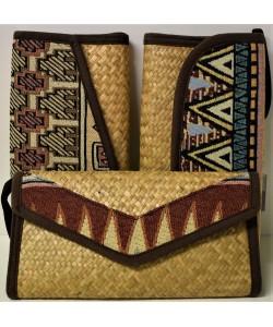 Ψάθινη γυναικεία τσάντα Ρ-505