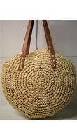 Ψάθινη γυναικεία τσάντα Ρ-506
