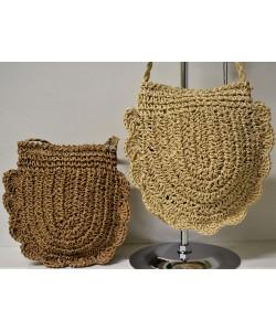Ψάθινη γυναικεία τσάντα Ρ-519