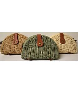 Ψάθινη γυναικεία τσάντα P-521