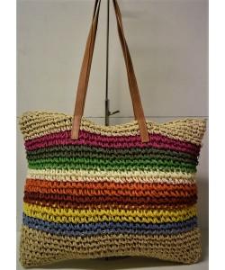 Ψάθινη γυναικεία τσάντα Ρ-526