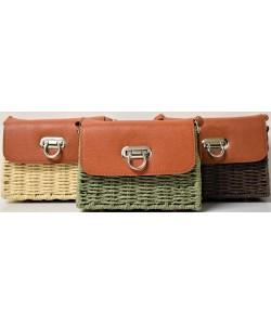 Ψάθινη γυναίκεια τσάντα Ρ-533