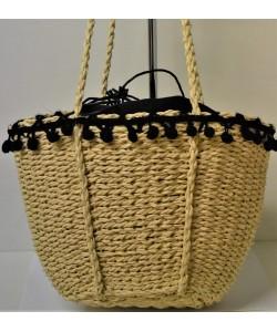 Γυναικεία τσάντα ψάθινη Ρ-539