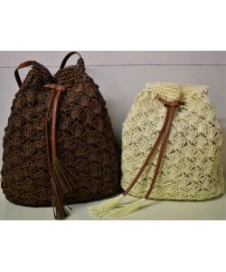 Ψάθινη γυναικεία τσάντα Ρ-540