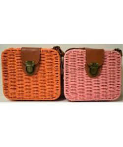 Ψάθινη γυναικεία τσάντα Ρ-541